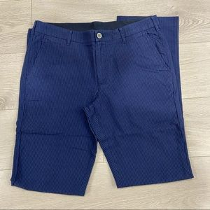 Bonobos Seersucker Navy Pants
